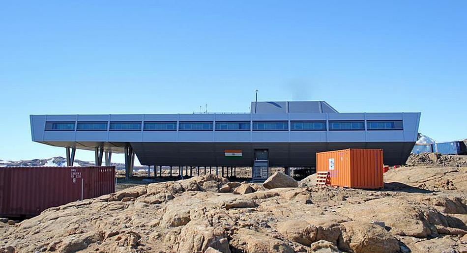 Die indische Antarktis-Forschungsstation «Bharati» demonstriert beispielhaft, wie auch unter extremsten Anforderungen durch ein enges Zusammenspiel aller Baubeteiligten aus Ideen gebaute Wirklichkeit wird.
