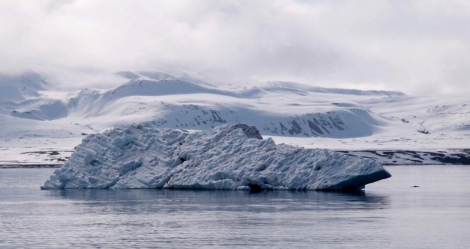 Grössere Eisberge könnten für die Erdöl und Erdgas zu einer ernsten Bedrohung werden.