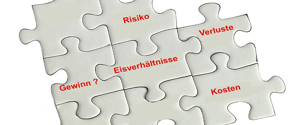 Das Ganze um die Oel- und Erdgasförderung in Ostgrönland ist ein Puzzle mit ungewissem Ausgang.