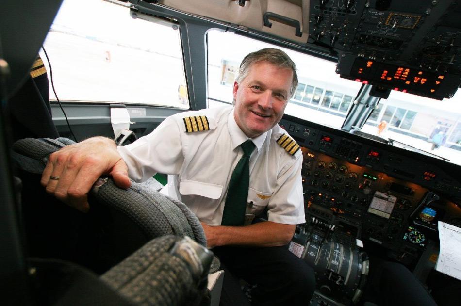 Der ehemalige Mitbesitzer der norwegischen Fluggesellschaft Widerøe, Ola Giaever, ist selbst leidenschaftlicher Pilot. Sein Plan, die Route Kirkenes – Murmansk wiederzubeleben, könnte auch für Firmen, die Arktisexpeditionen zum Nordpol anbieten, interessant sein. Bild: Marit Rein, Nordlys